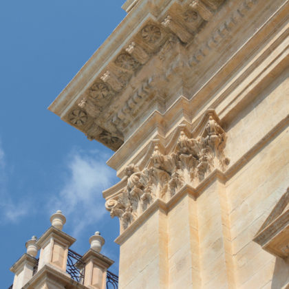 Baroque Architecture Detail
