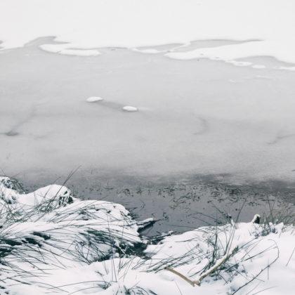 Ufer Eis