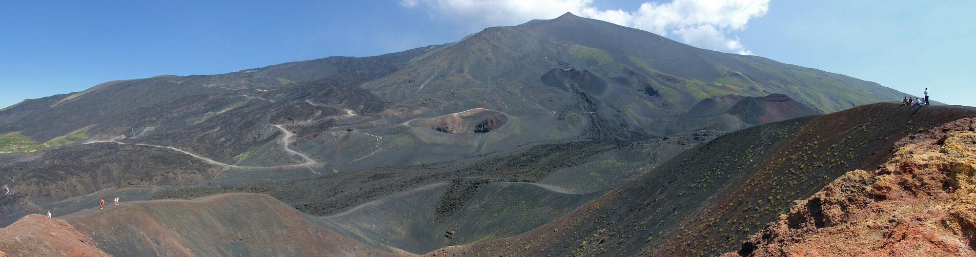Mount Etna South Side