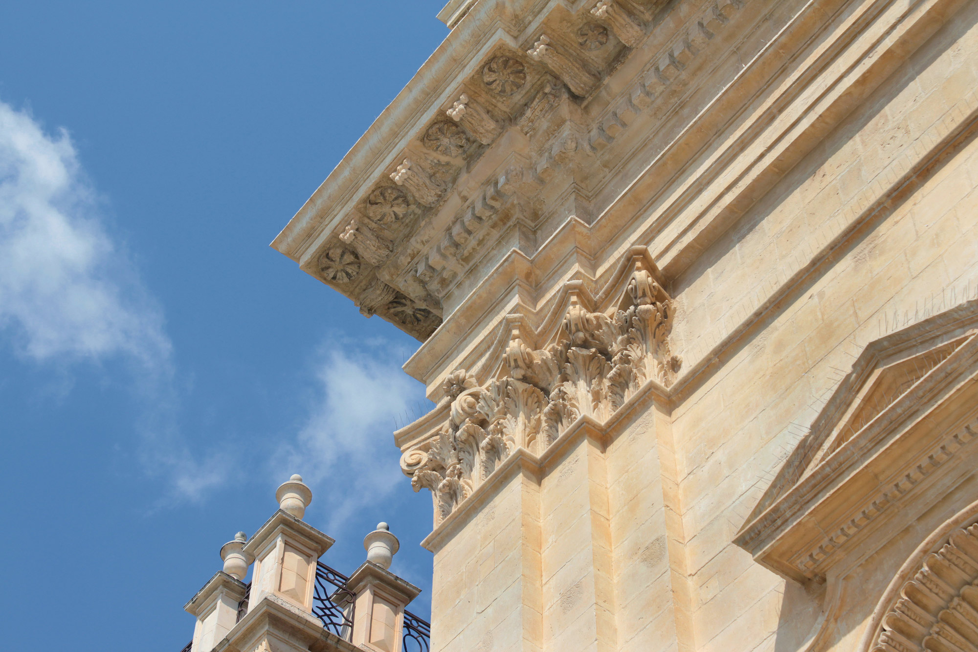 Baroque Architecture Detail