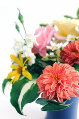 Blumenstrauß Vase