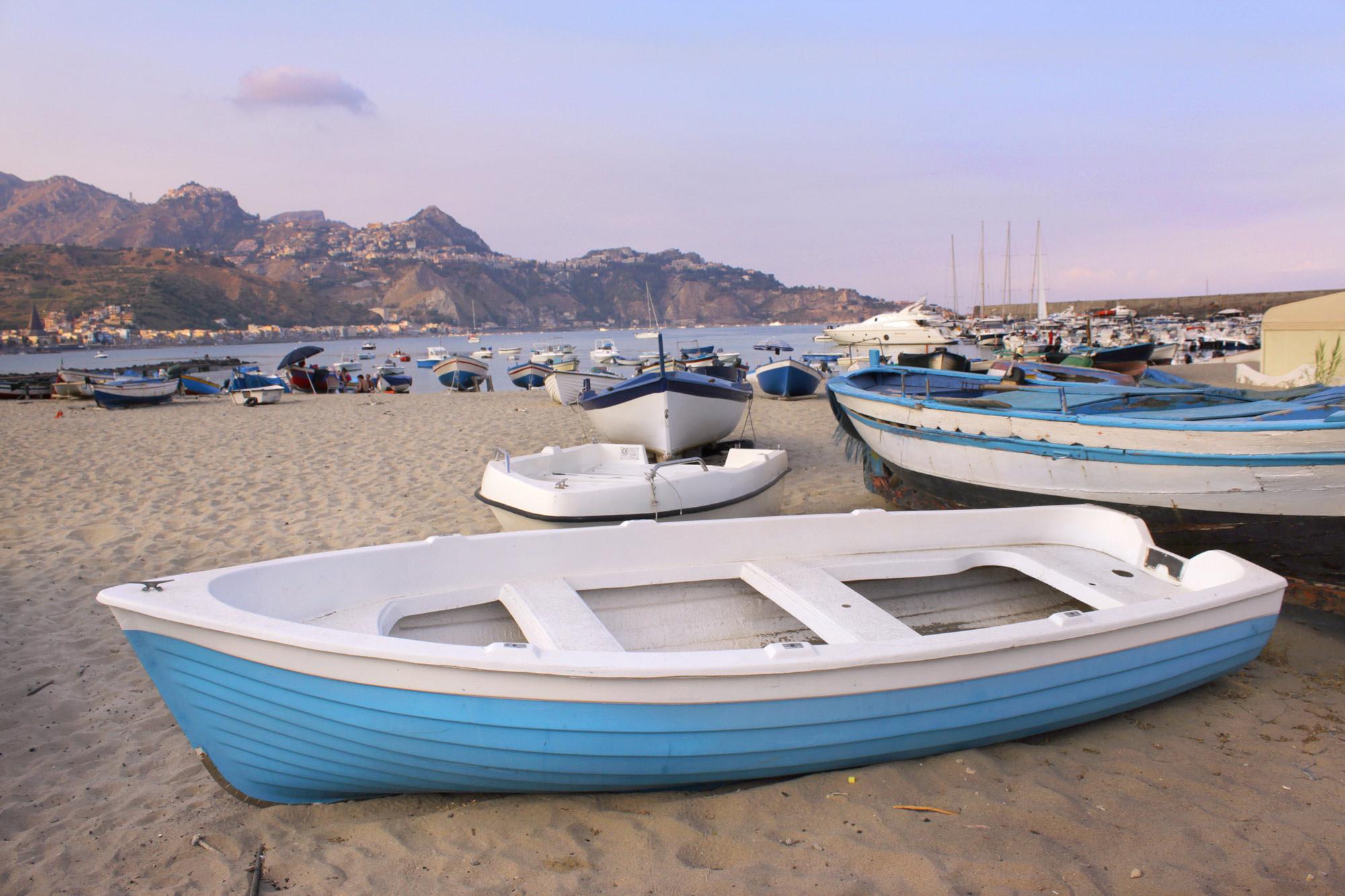 Boote Strand