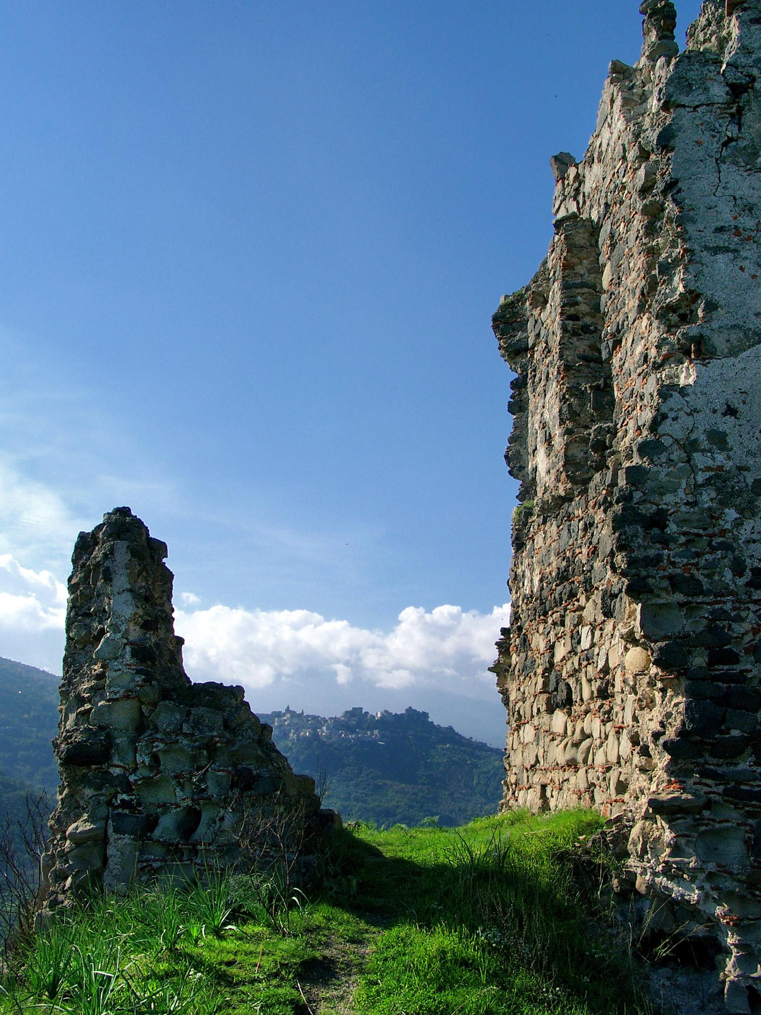 Castle Ruin Walls