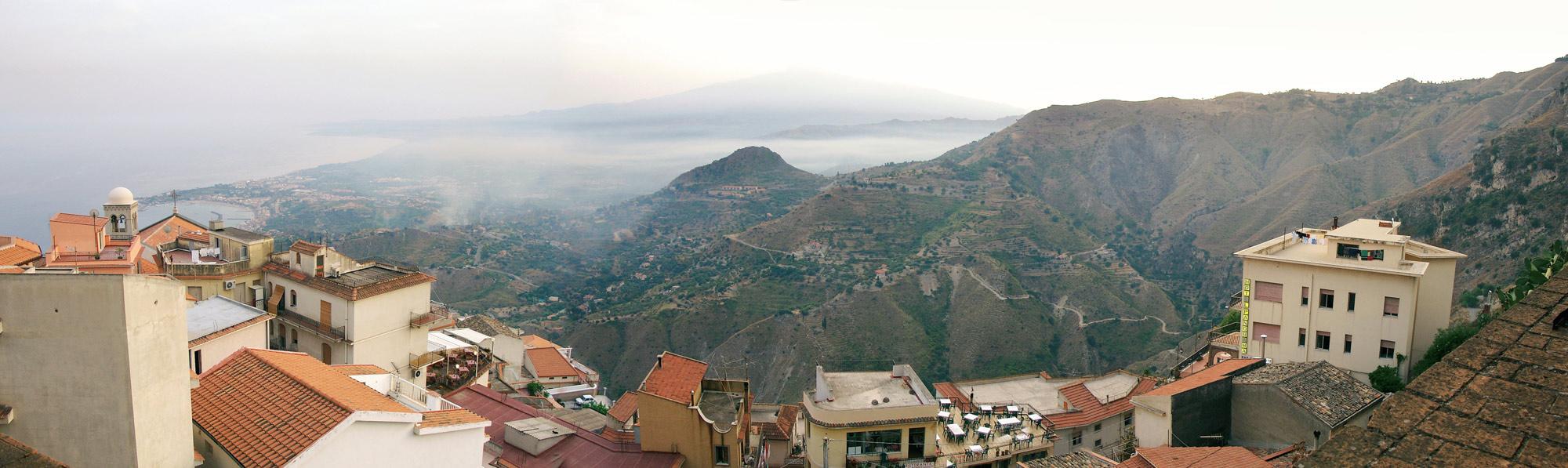 Castelmola Sizilien