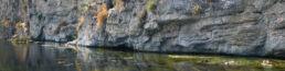 Felswand Lagune