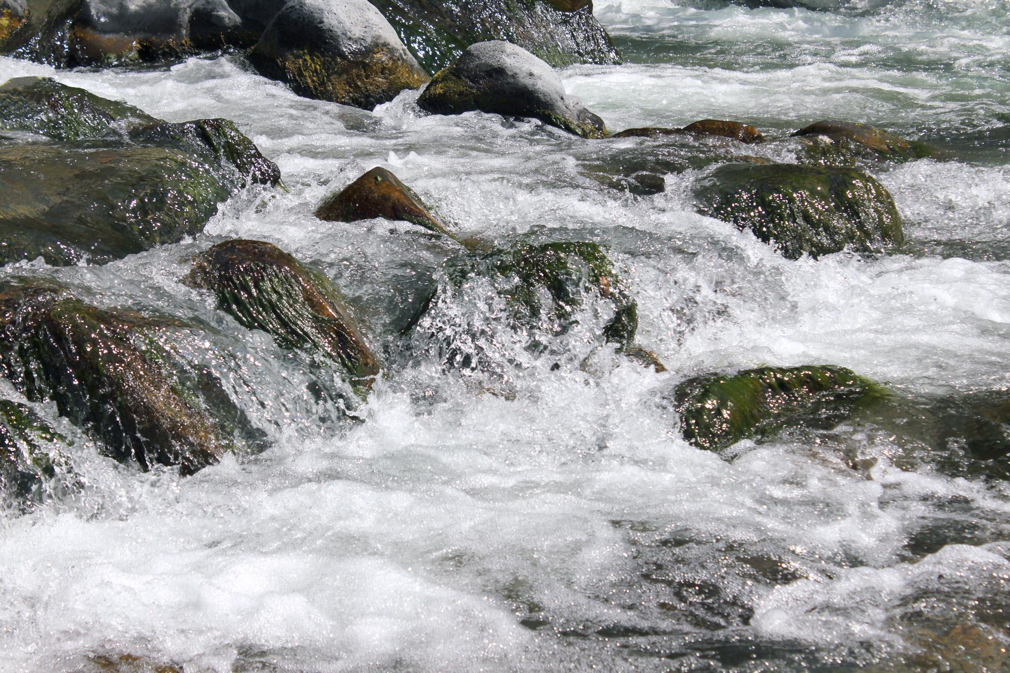 Fluss Stromschnelle