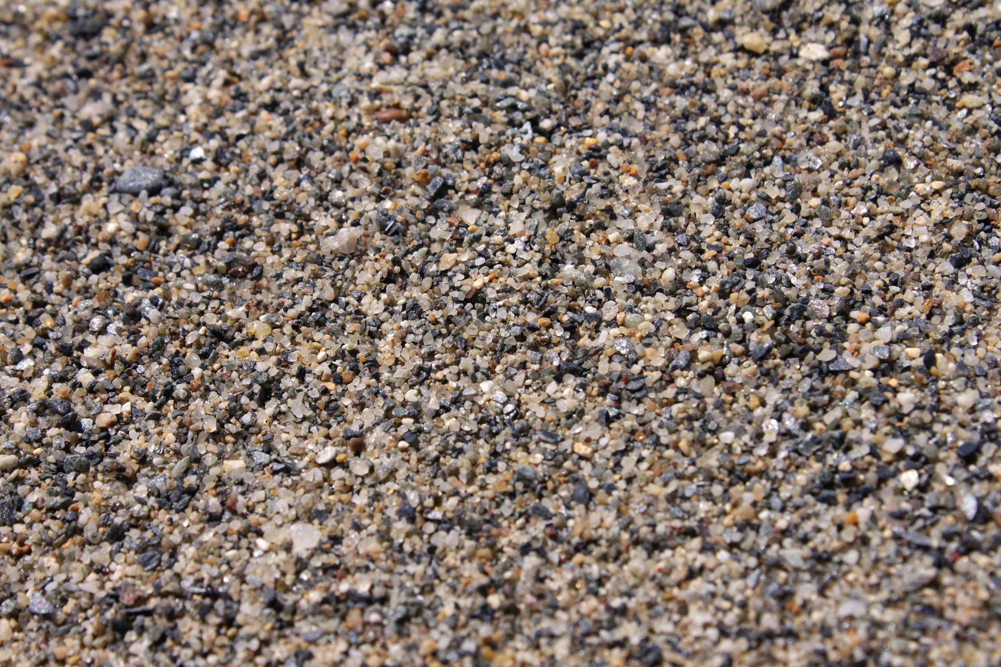 Gravel Sand Beach