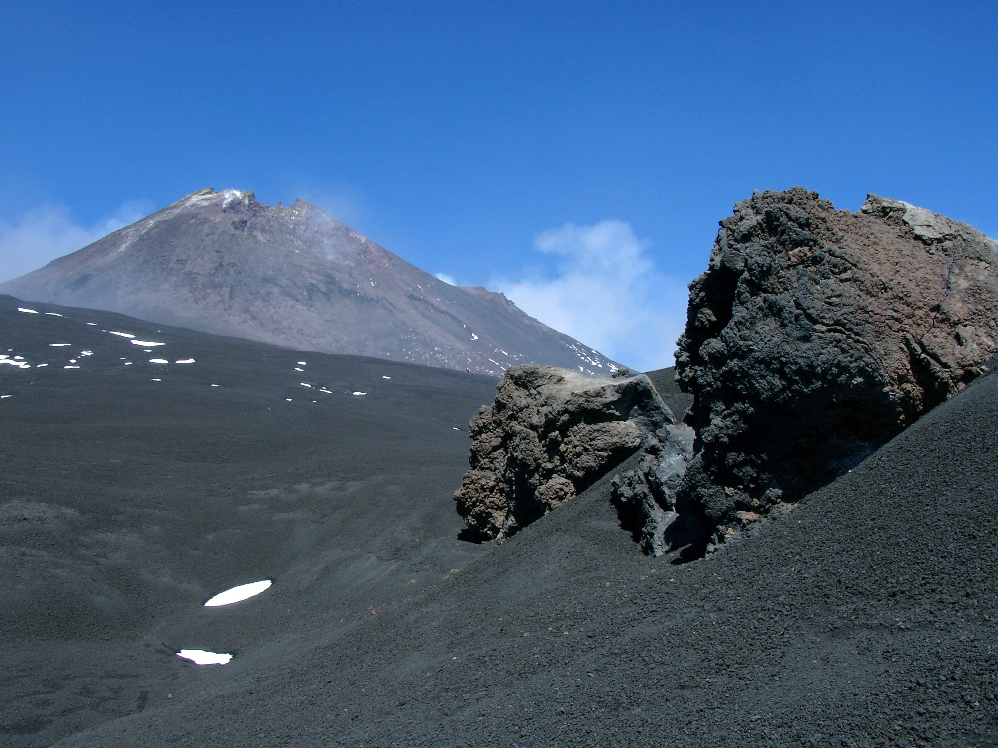 Lava Stones Volcano