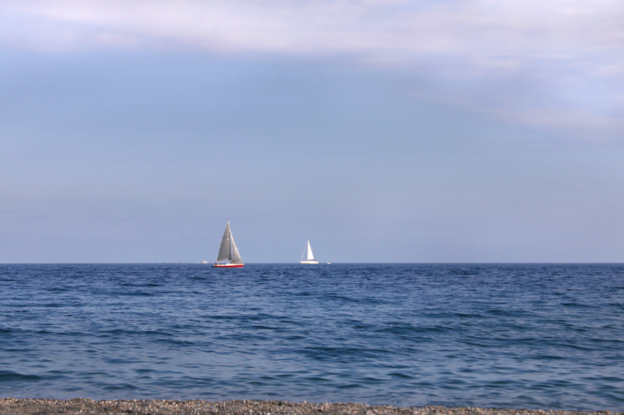 Sailboats Sea