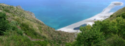 Strand Tindari Sizilien
