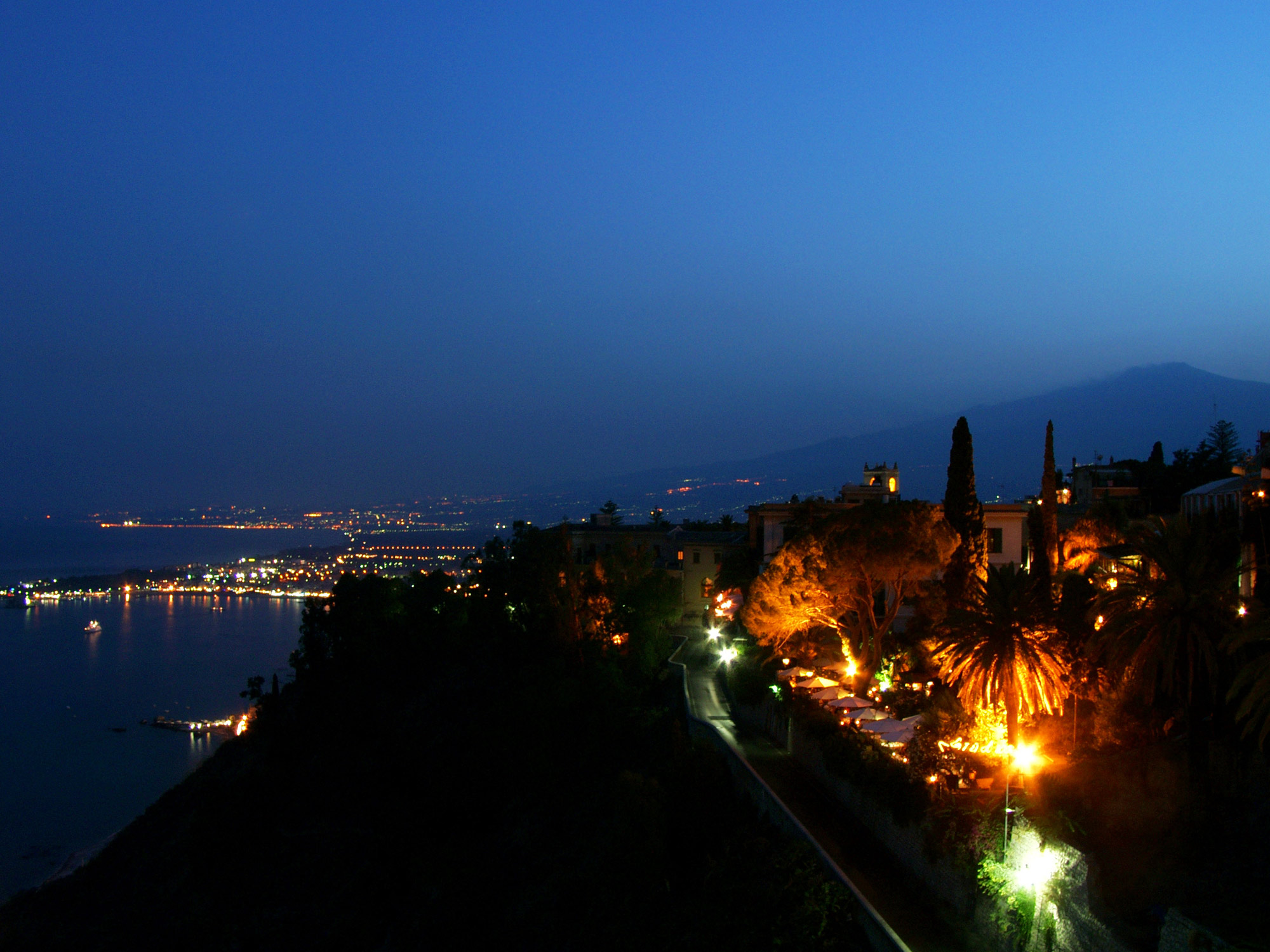 Taormina Night