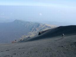Wandern Vulkan