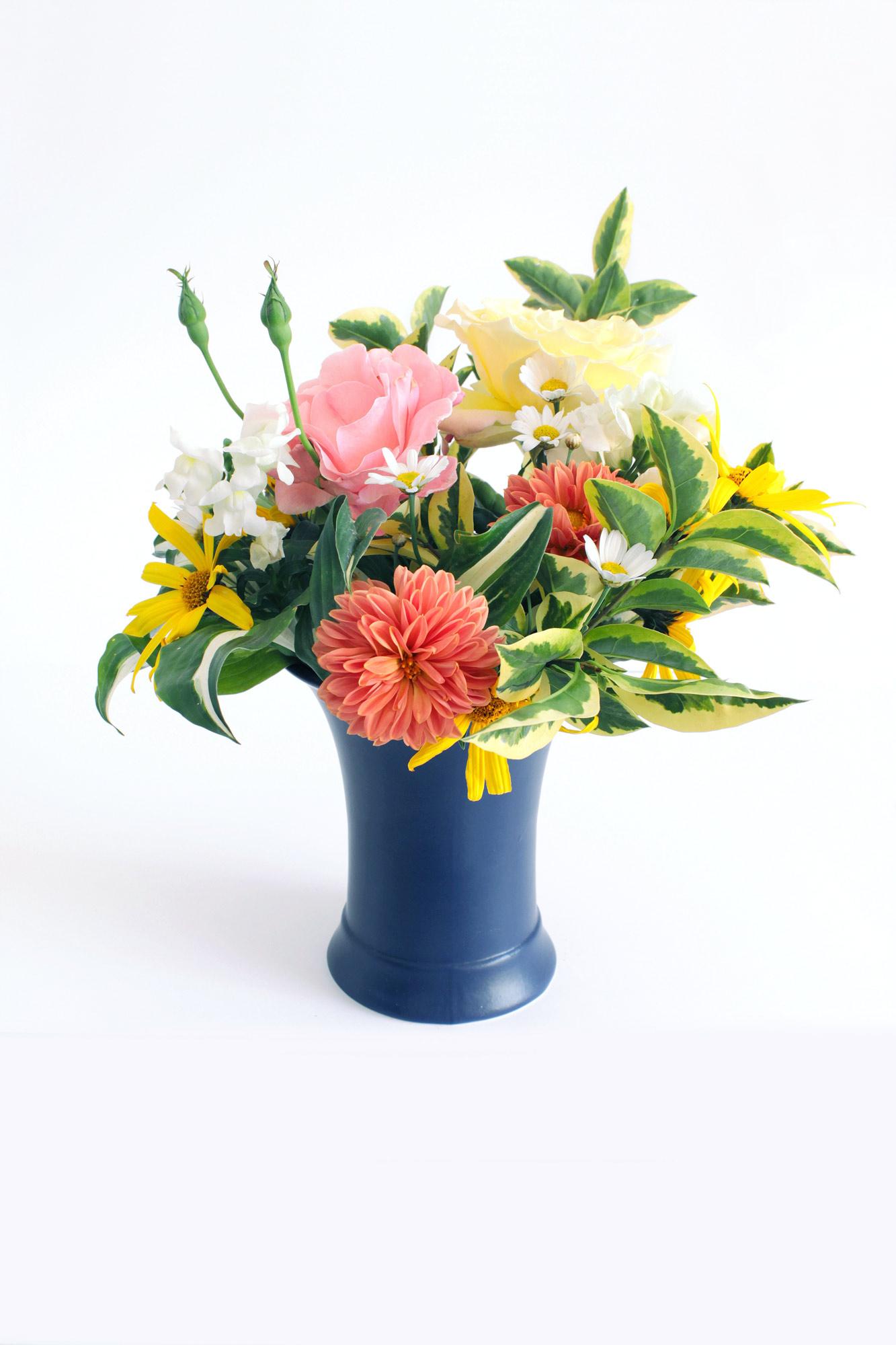 Wildblumen Vase