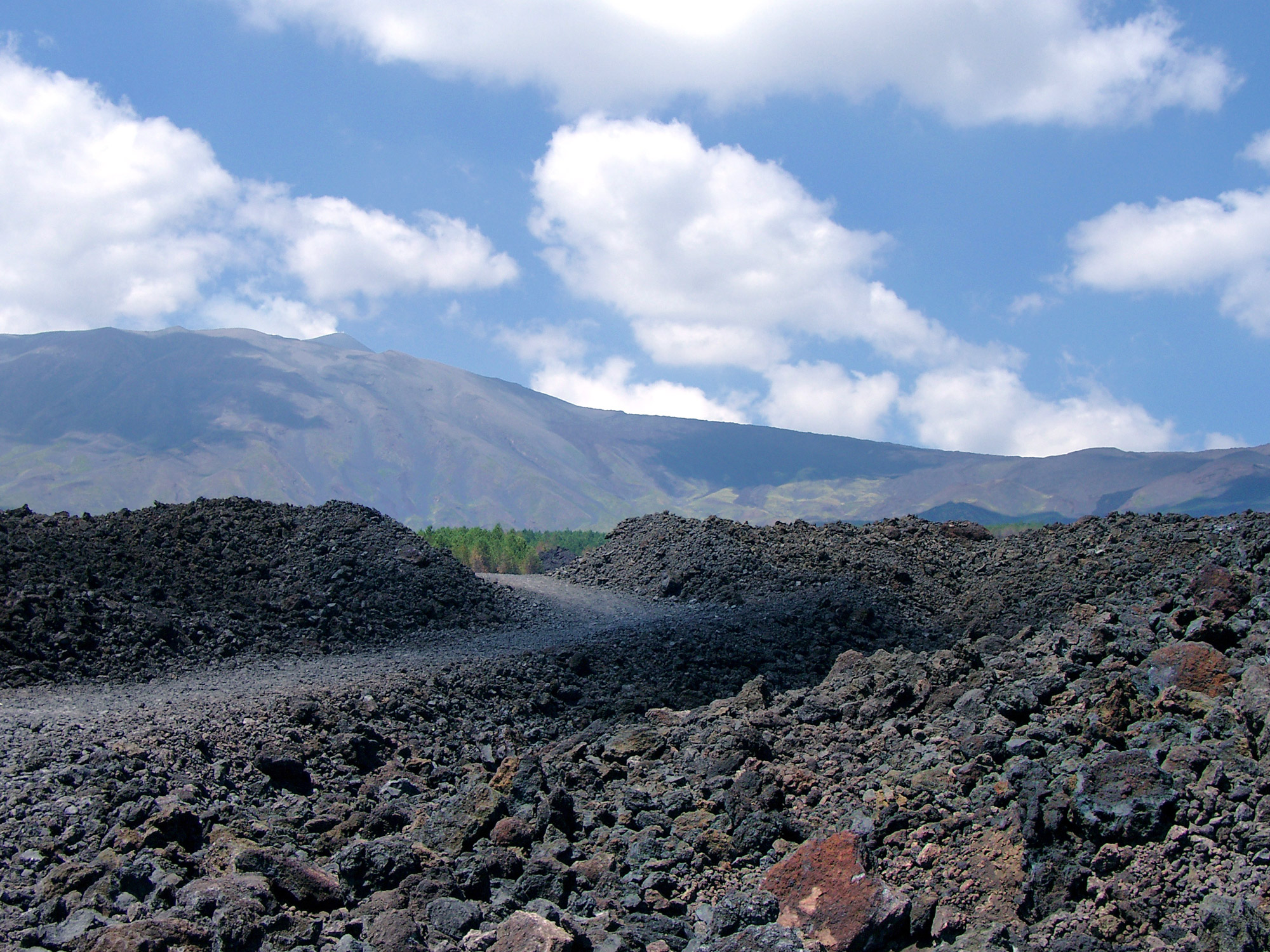 Mount Etna Hiking Trail