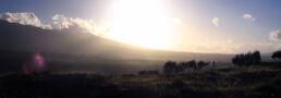 Sonnenuntergang Ätna