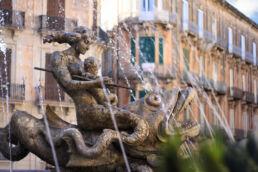 Artemis-Brunnen Syrakus, Sizilien