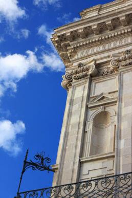 Barock Fassade Himmel