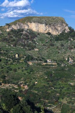 Berg Landschaft Sizilien