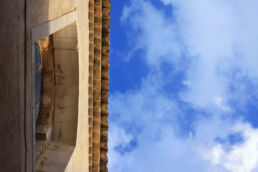 Dach Himmel Italien