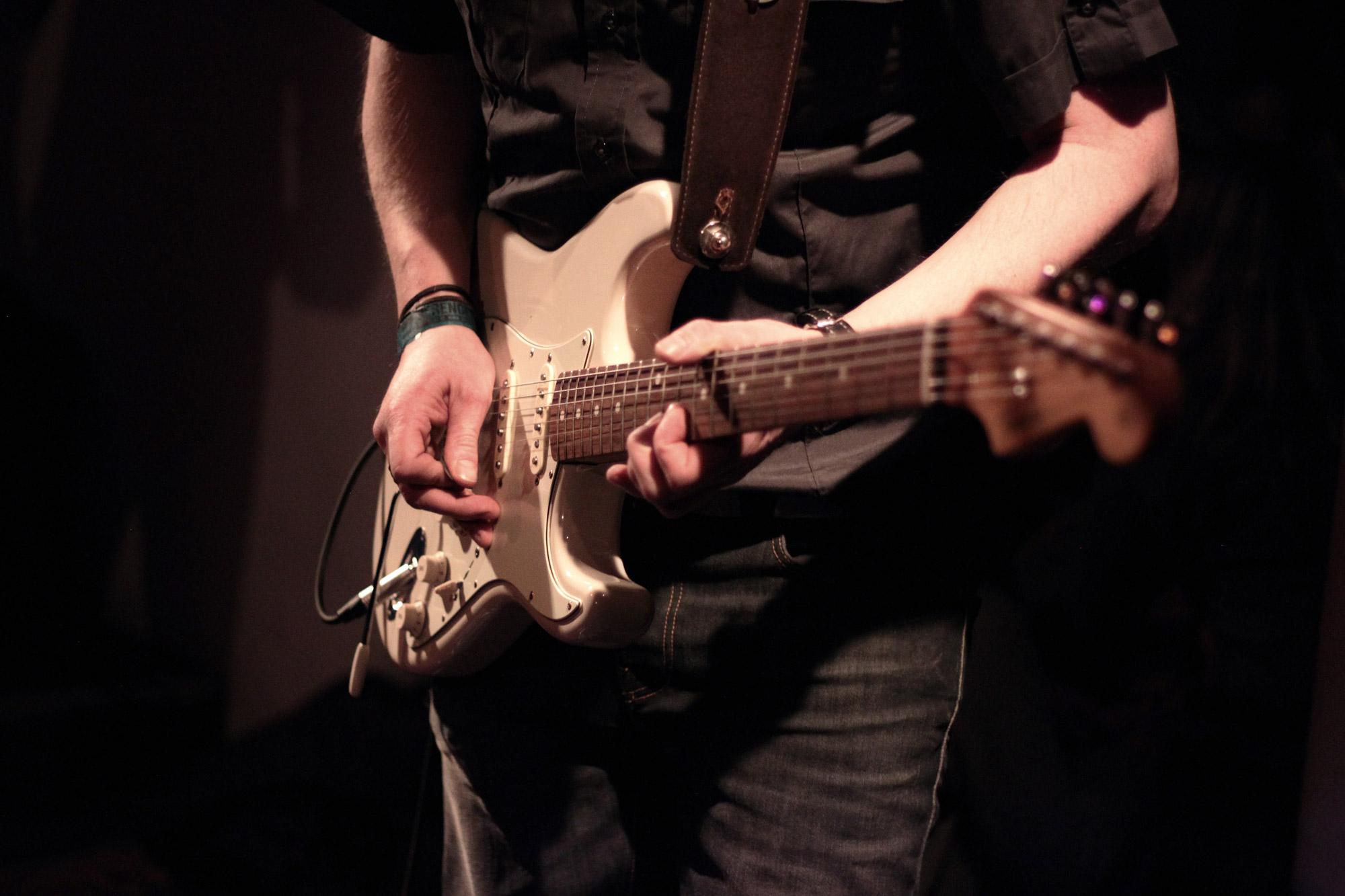 E-Gitarre spielen