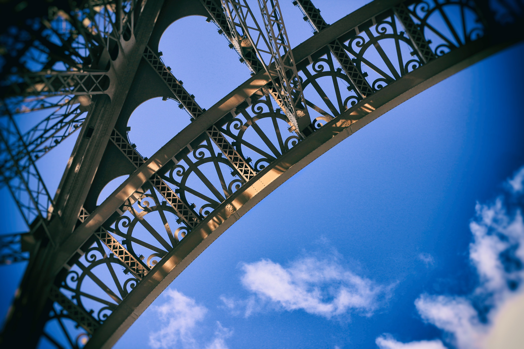 Eiffel Tower Detail