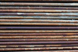 Eisenstangen Metall