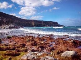 Felsenküste Steilküste