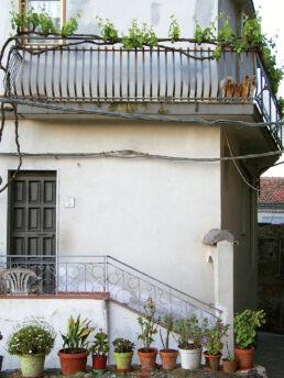 Hauseingang Balkon