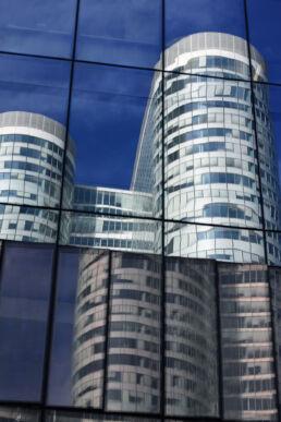 Hochhaus Spiegelung