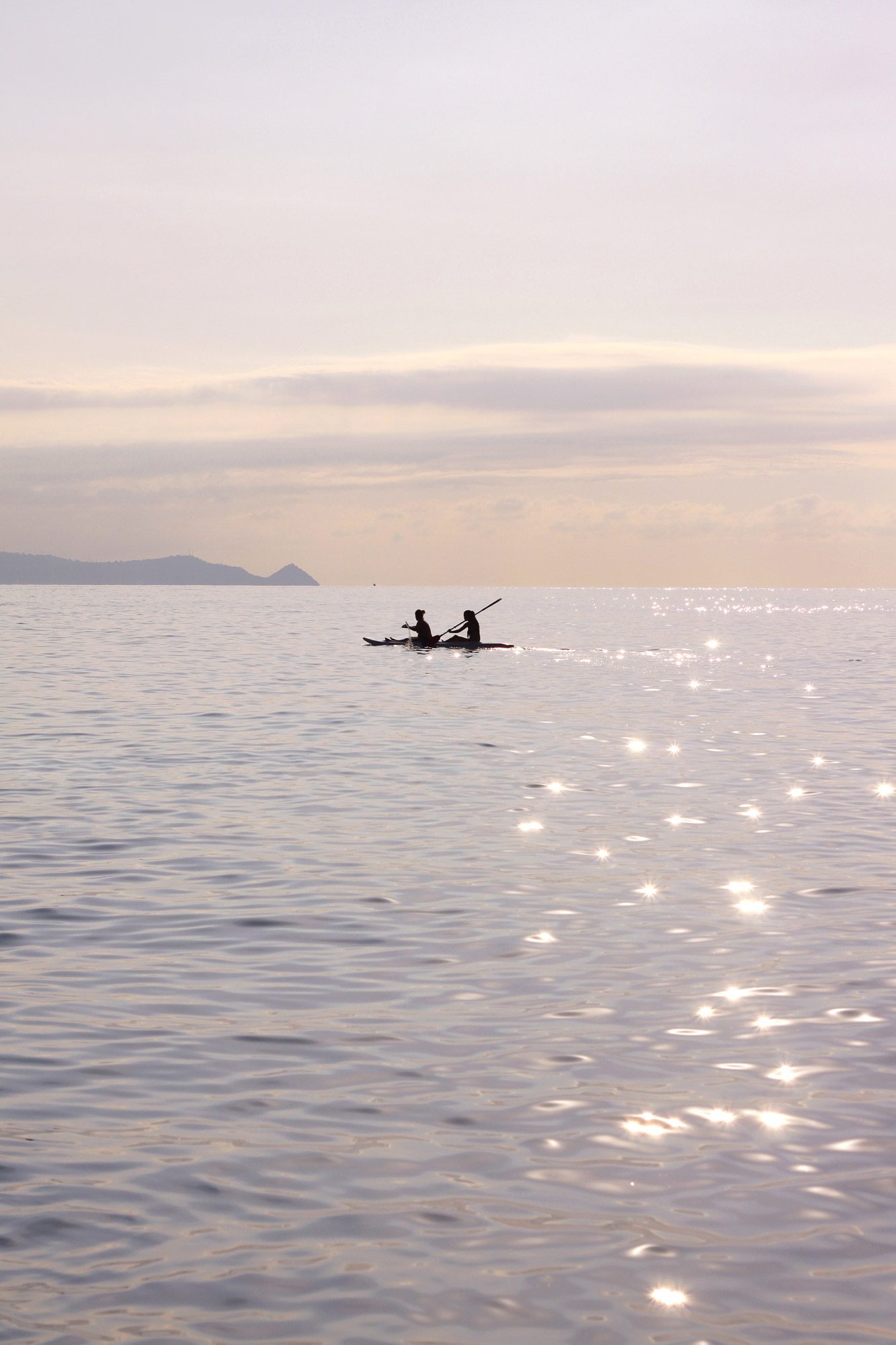 Canoeing Sea