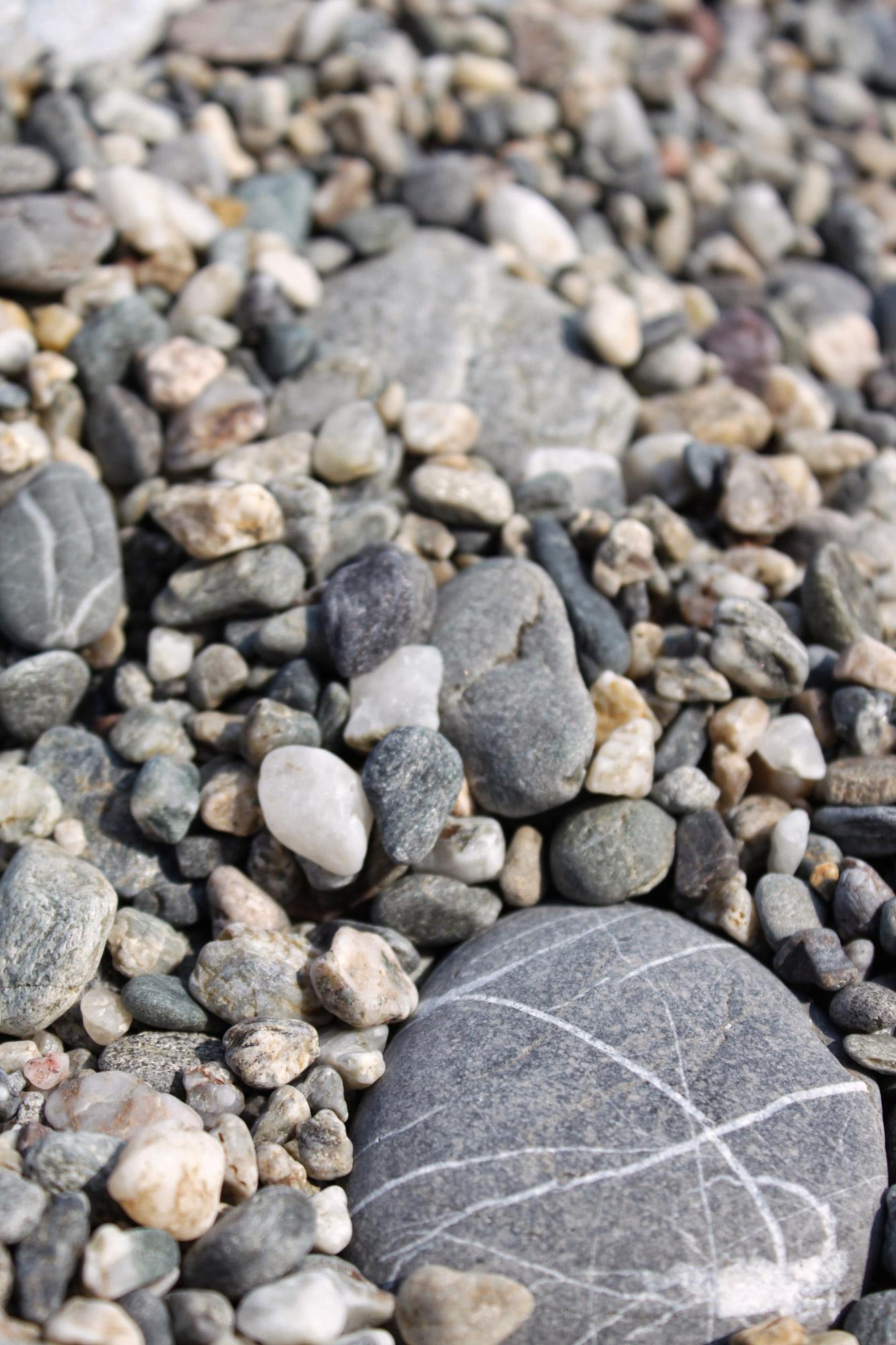 Stones Gravel Beach