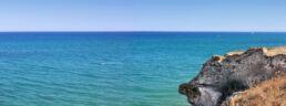Klippe am Meer