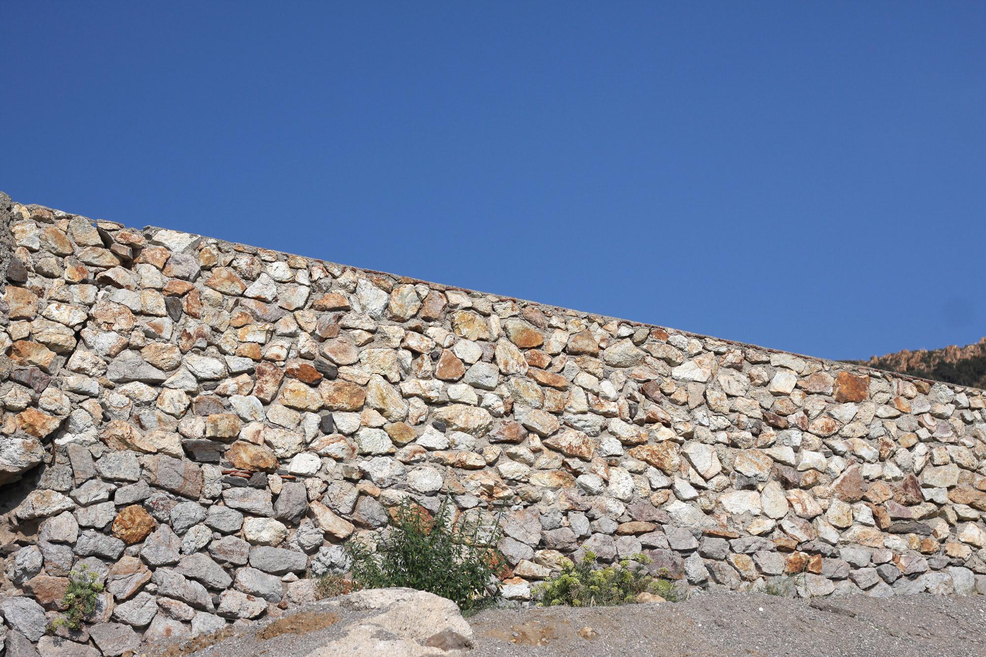 Mauer Naturstein