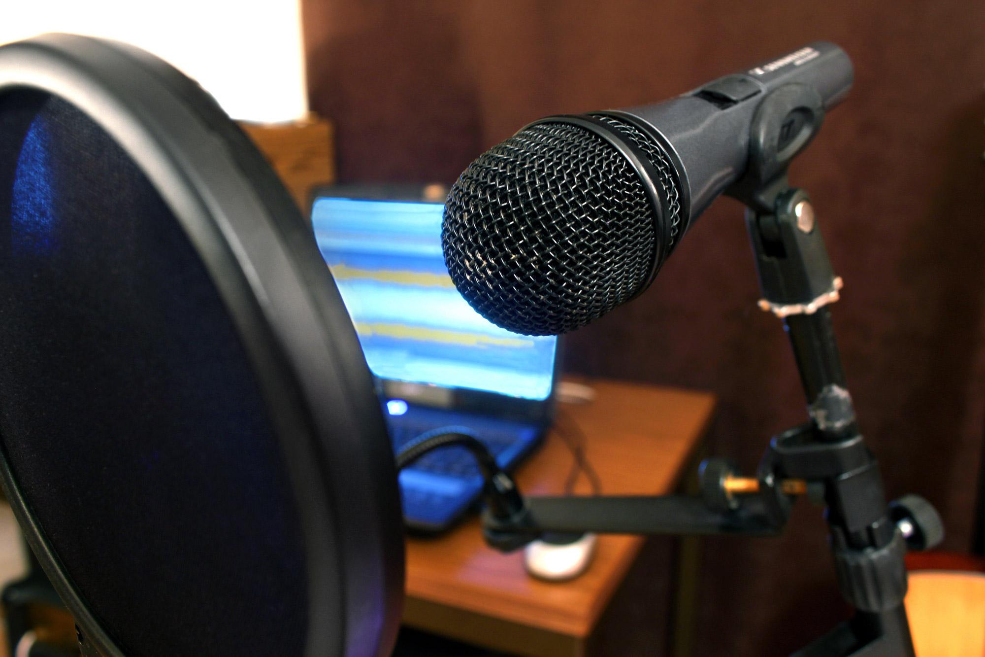 Mikrofon Homerecording