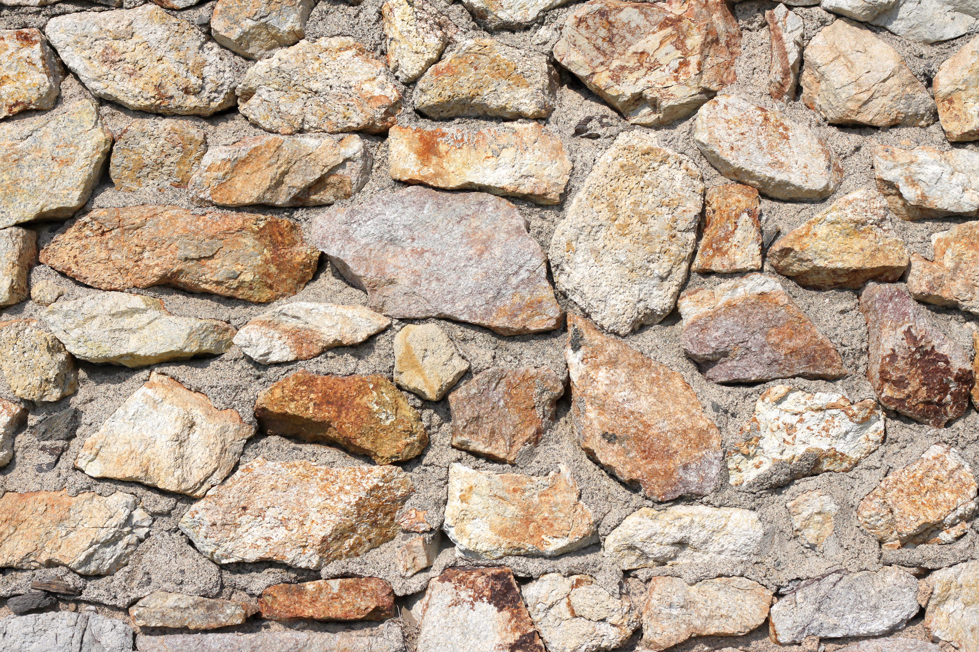 Naturstein Mauer