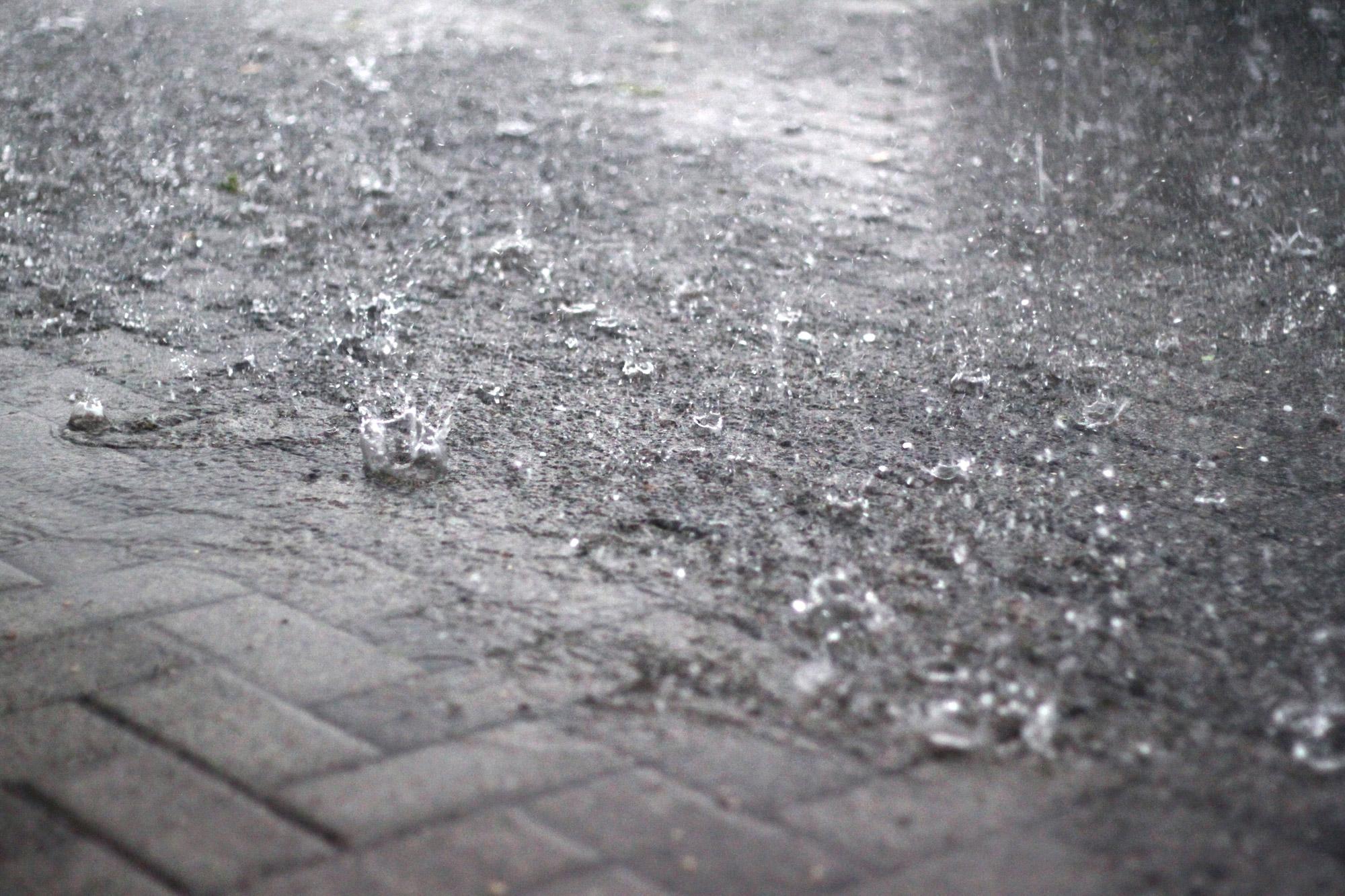 Regen Regentropfen