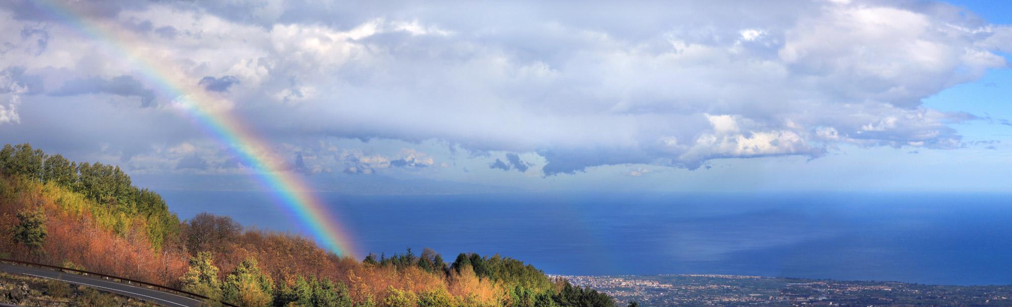 Regenbogen Natur