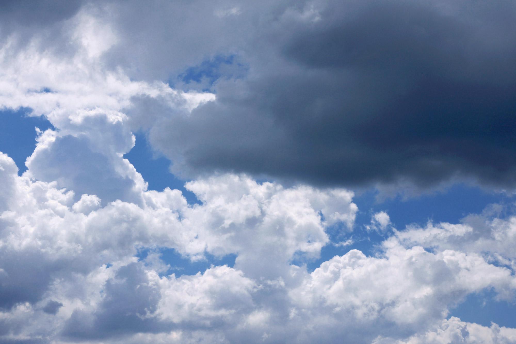 Regenwolken Himmel