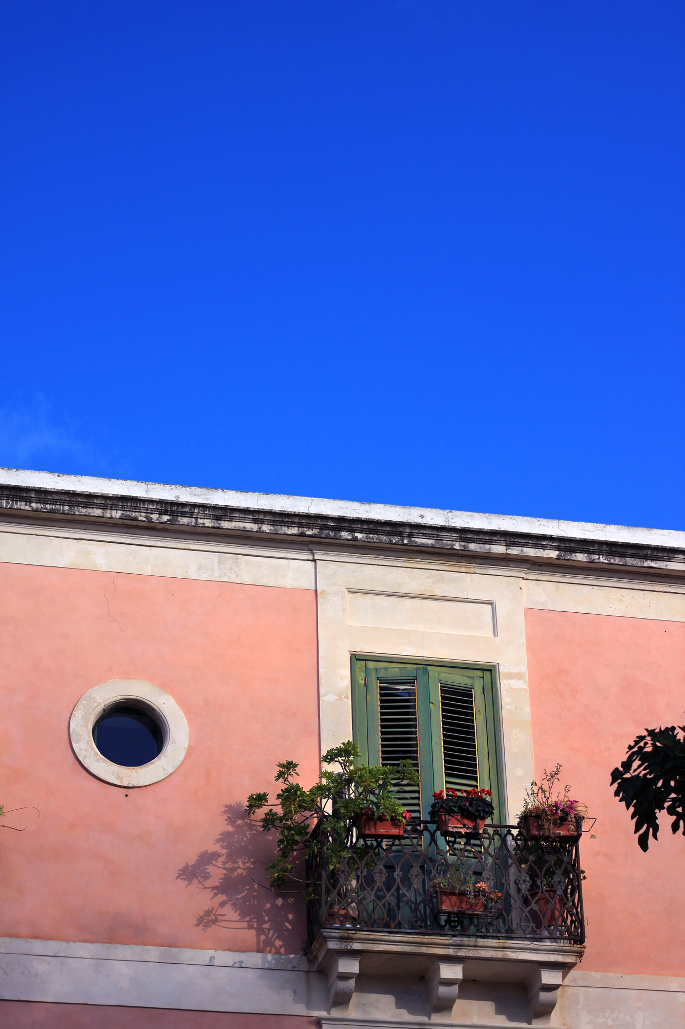 Rose Colored House Italy