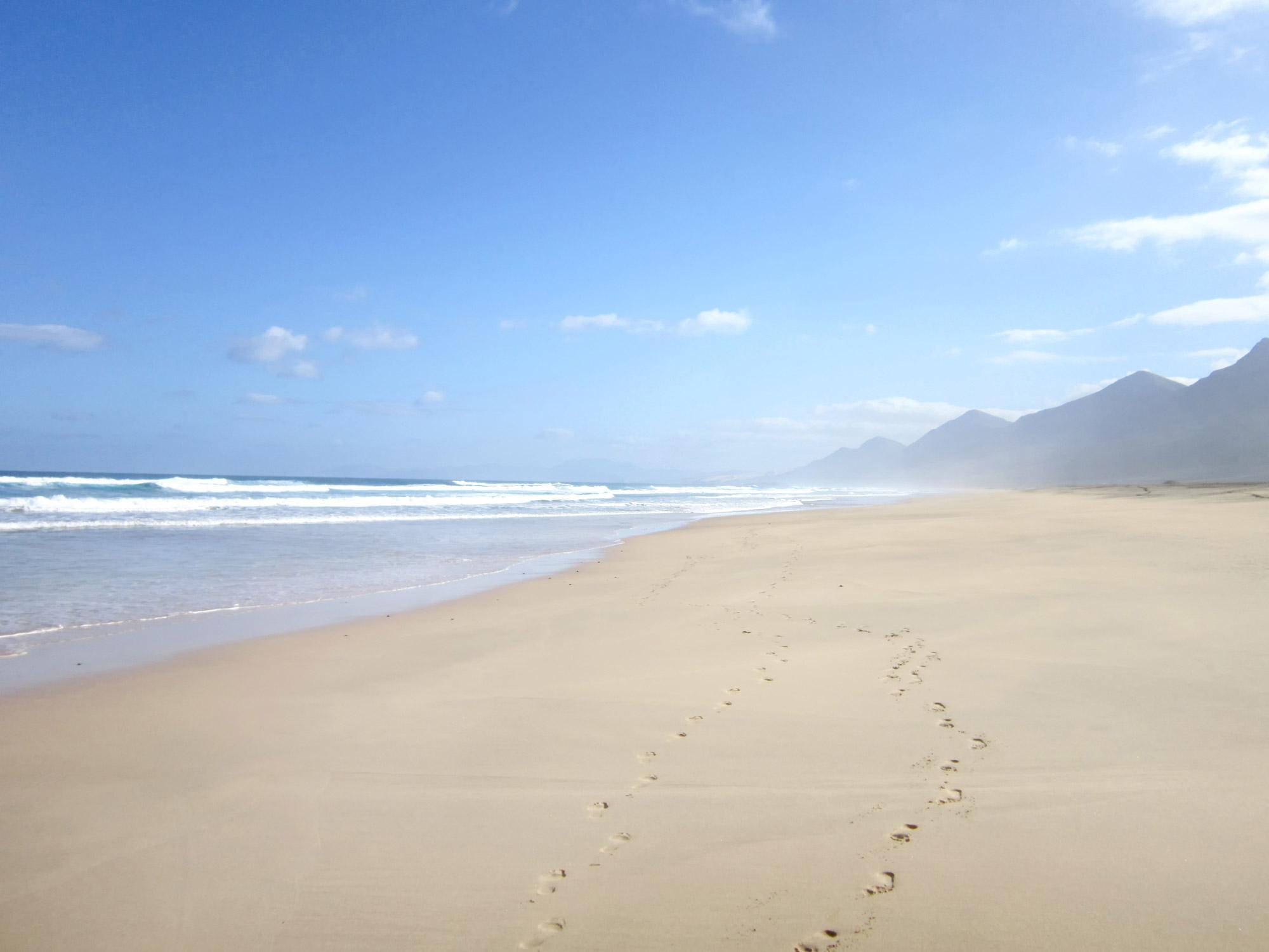 Sandstrand Fuerteventura