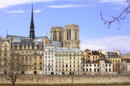 Seine Paris Häuser