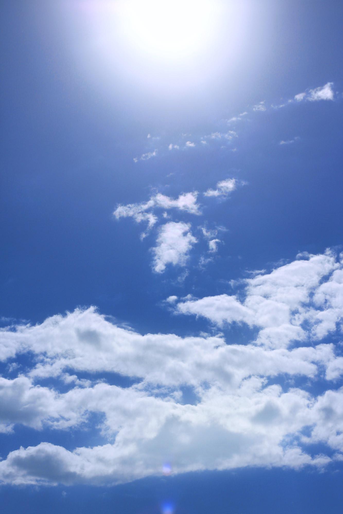 Sonne Wolken - kostenlose Bilder download | Titania Foto