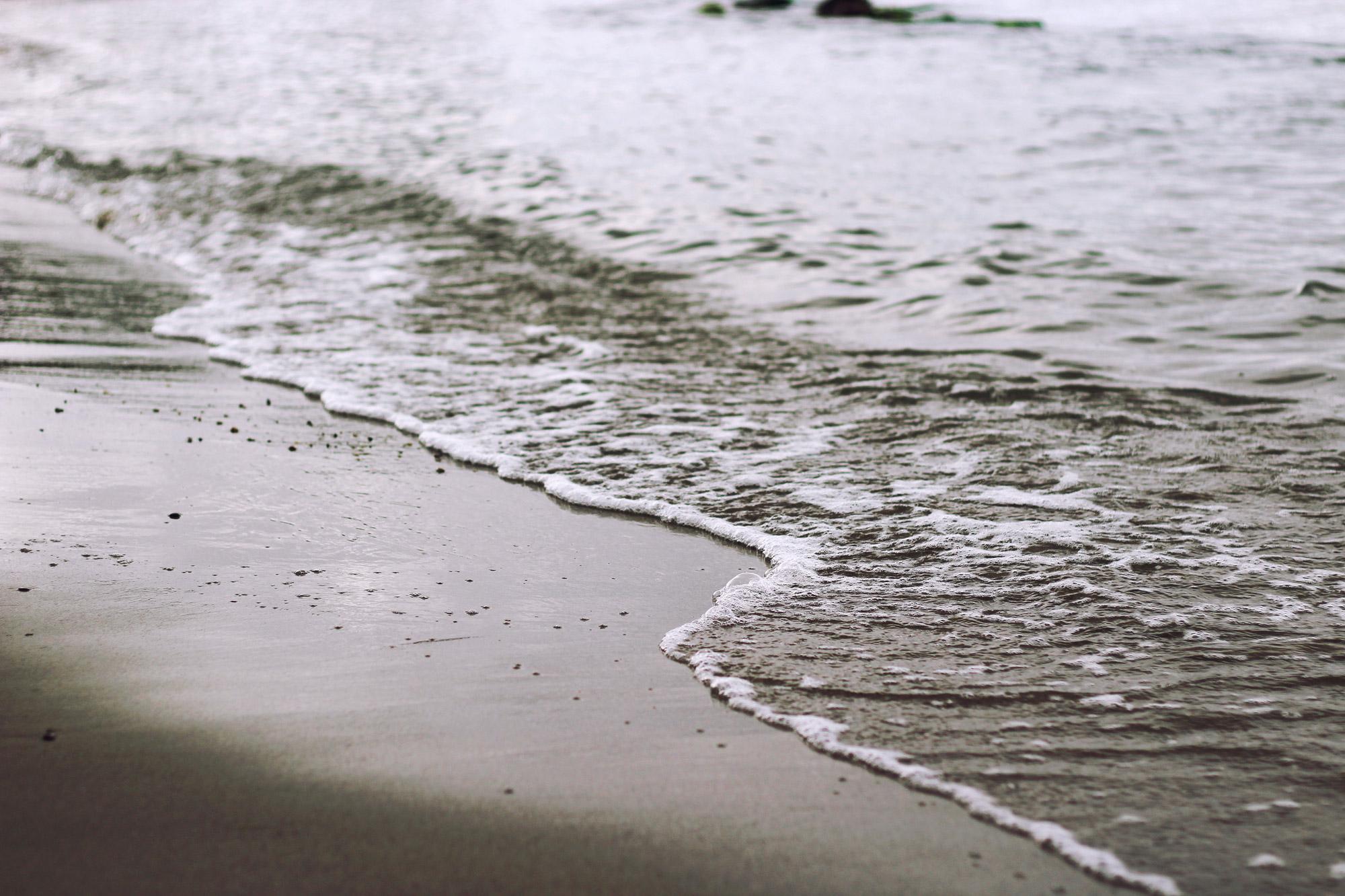 Strand Gischt