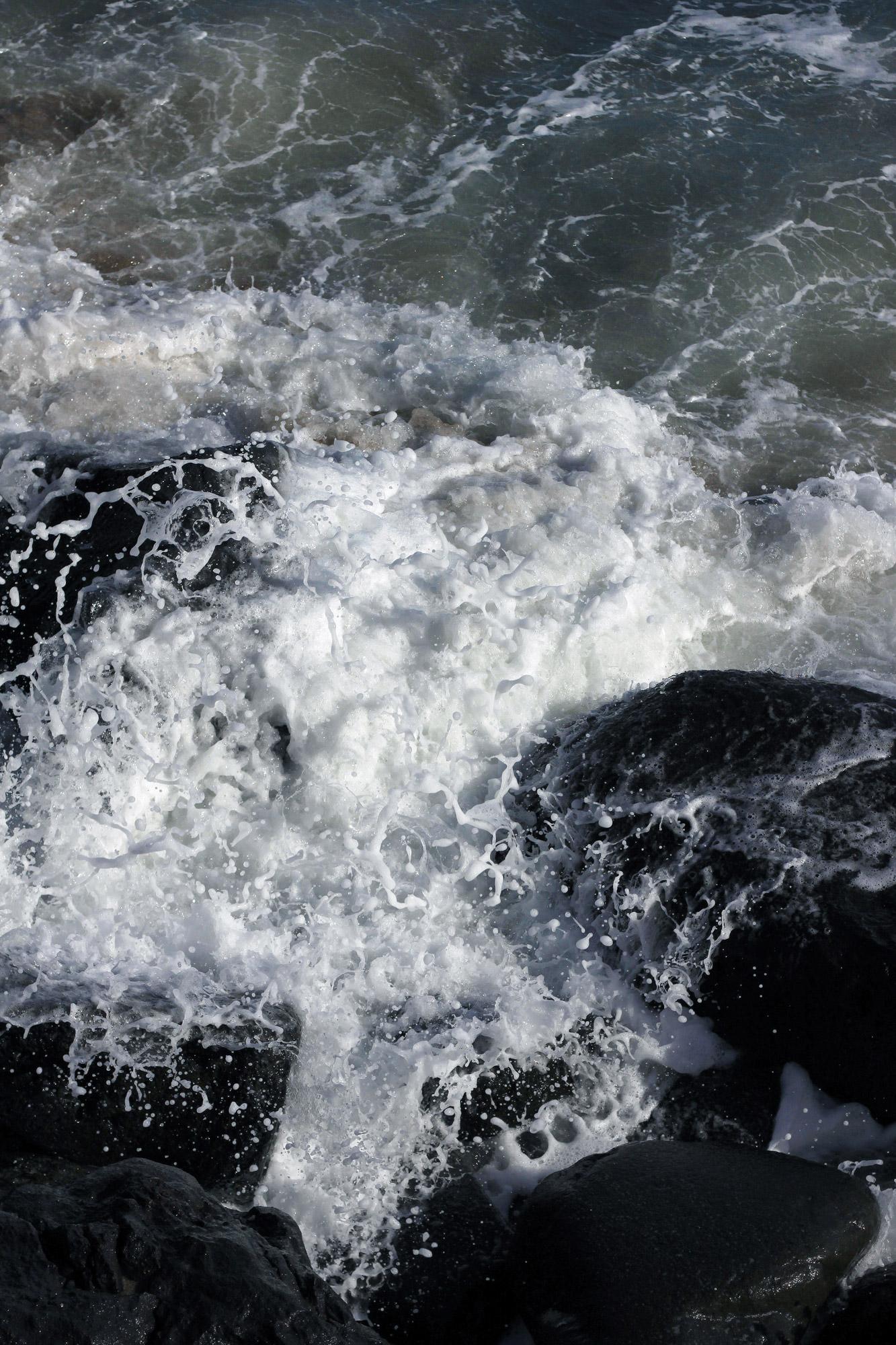 Rocks Wave Breaking