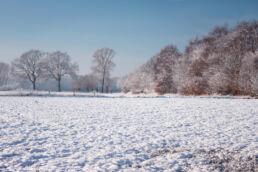 Winterlandschaft Schnee
