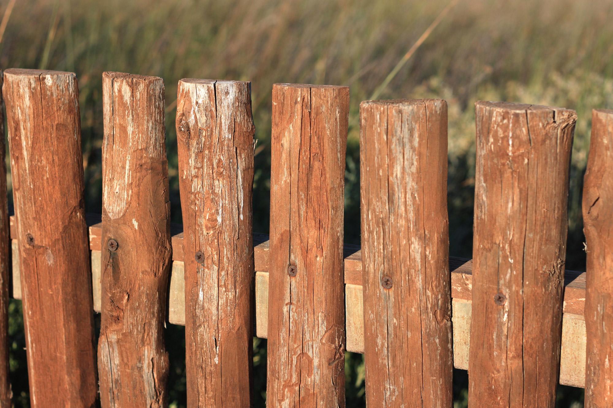 Zaun Holzzaun